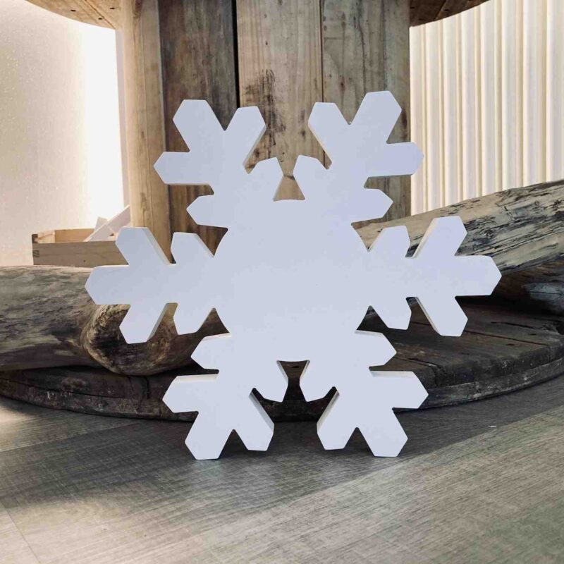 sagoma fiocco di neve