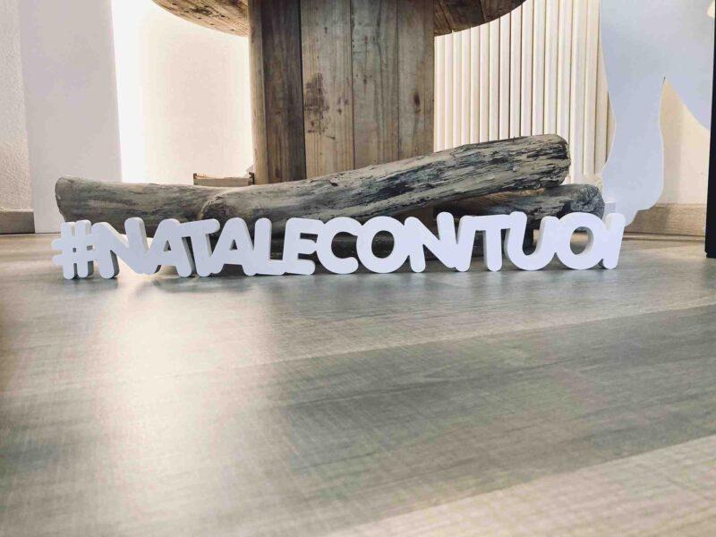 SCRITTA #NATALECONITUOI