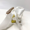 bomboniera scatola trasparente e cuore oro