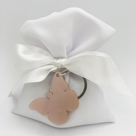 whitedesign bomboniera termoresina rosa farfalla