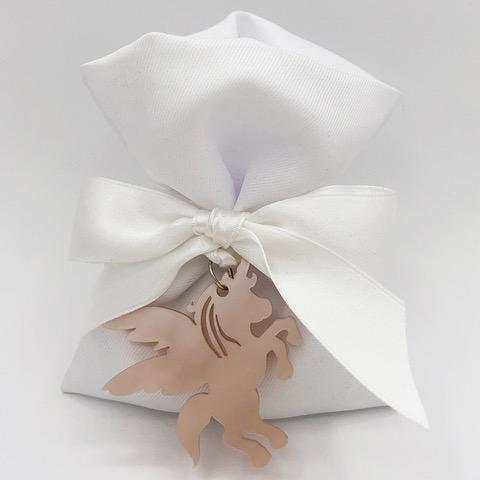 whitedesign bomboniera termoresina rosa unicorno